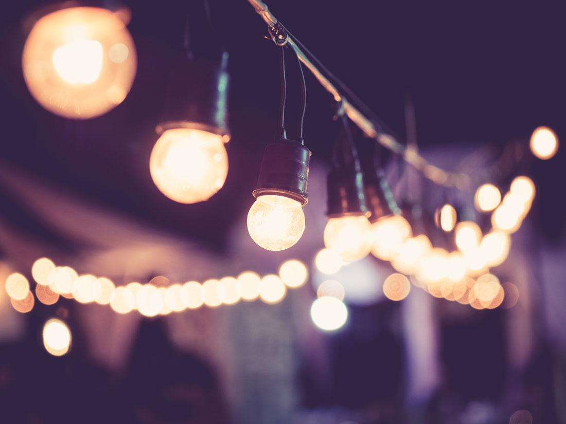 D-max Print – Event – Eventdekor lampor