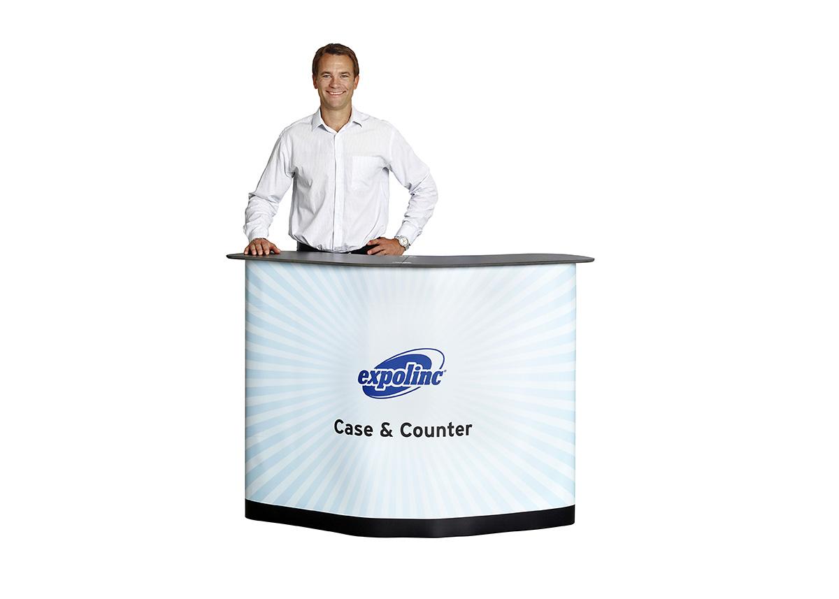 Podium/Mässbord – Expolinc Case & Counter