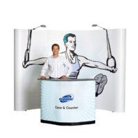 Expolinc Soft Image – Mässvägg och Podium